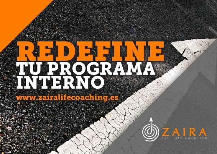 Redefine tu programa zaira life coaching